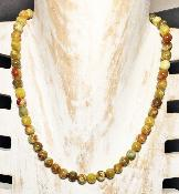 Collier en Pierres Naturelles de Serpentine