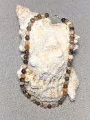Collier Agates Fossiles