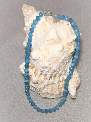 Collier Quartz Bleu
