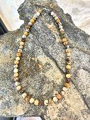 Collier Agates Folles